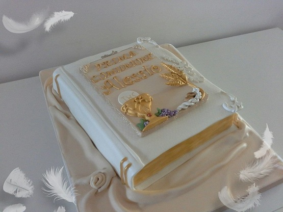 Roberta Bulsei torta prima comunione