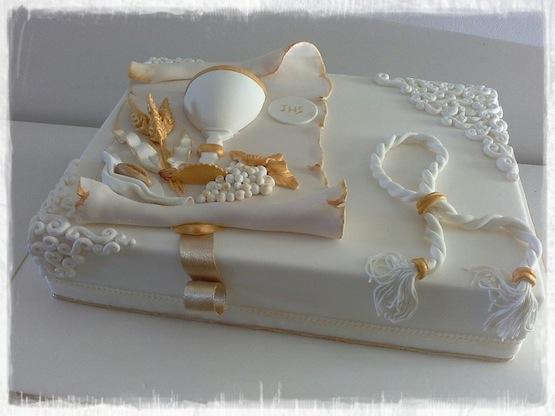torta prima comunione bella