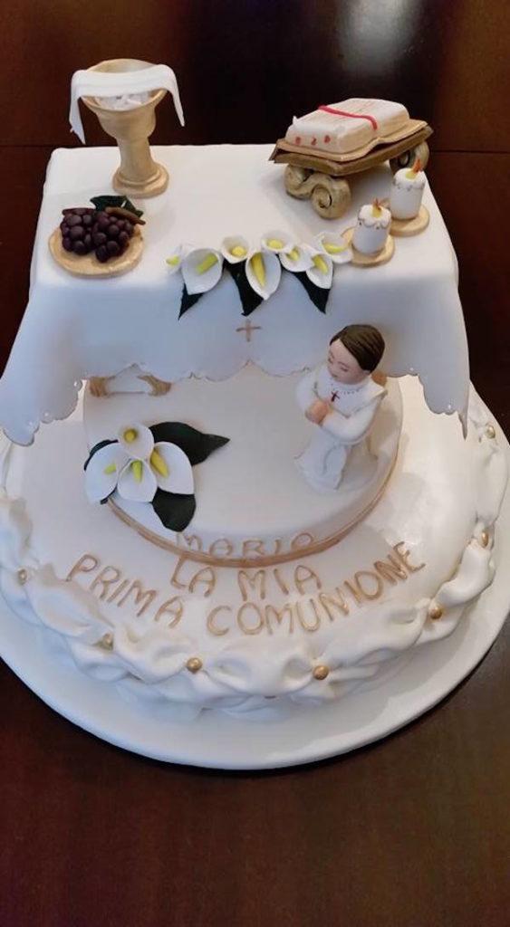 Torte per la prima comunione... ma anche biscotti e cupcake Maria Carta