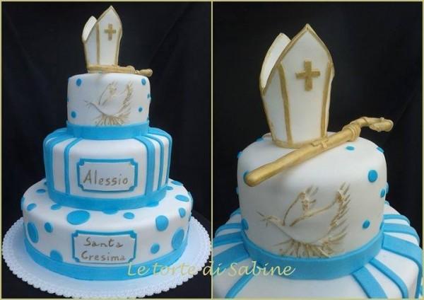 Favori Torta per la Cresima: idee per torte Cresima di cake design IZ55