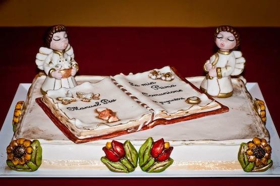 Sabrina Cocco torta comunione thun