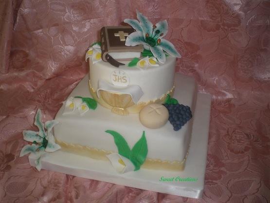 torta comunione messale