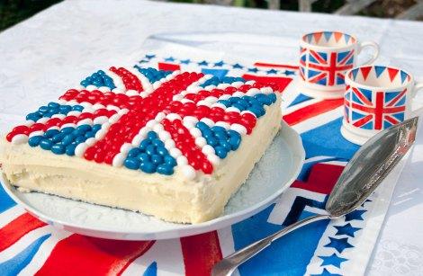 Union Jack Cake Stencil