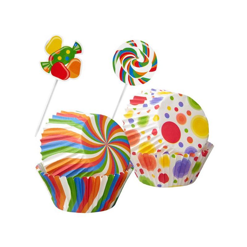 10 fantastiche torte decorate con caramelle for Decorazione torte e cupcake