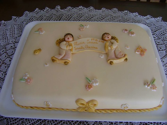 Torta Effetto Trapunta Tutorial.Torta Per La Cresima Idee Per Torte Cresima Di Cake Design