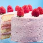 torta di fragole e panna