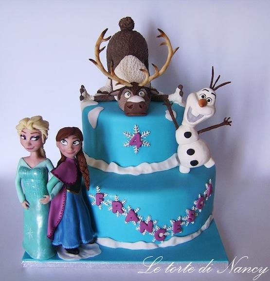Torte Frozen Dolci E Biscotti Con Elsa Anna Olaf