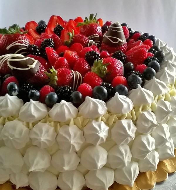 torta frutti di bosco