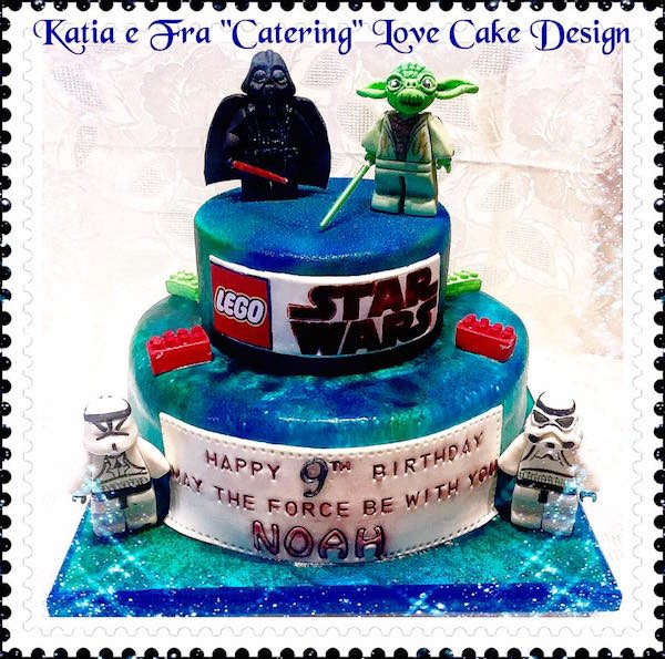 Super Torte Star Wars: dalla prima saga alla versione Lego FZ47