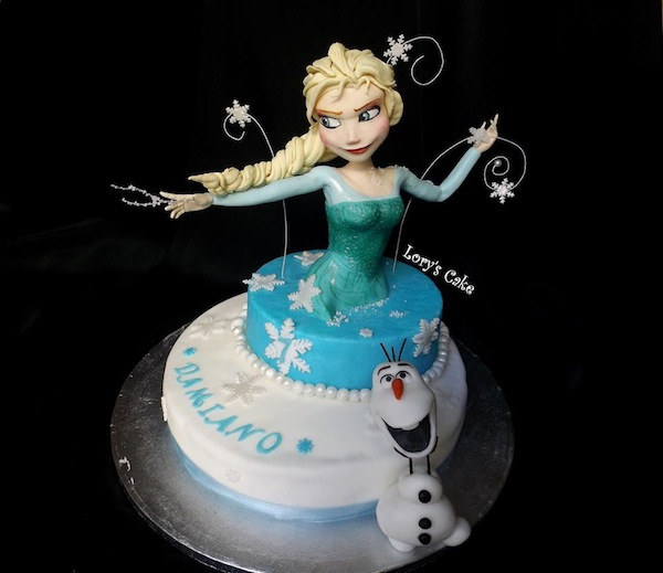 Frozen Olaf Cake Pictures