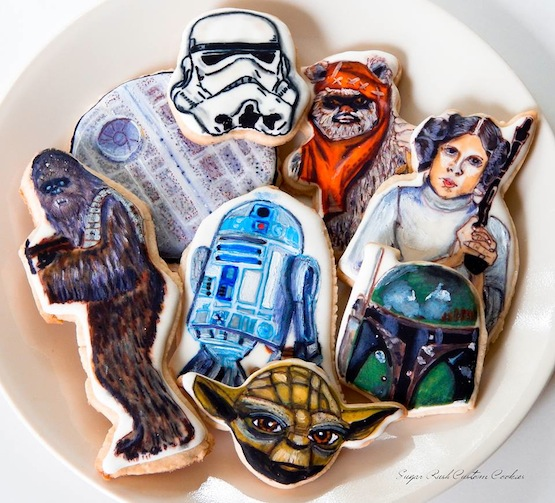 sugar rush cookies star wars