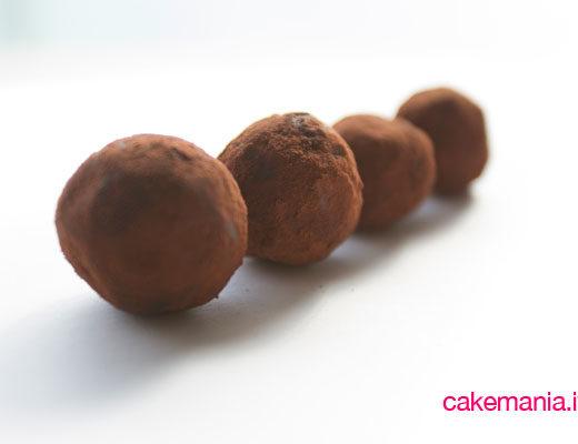 ricetta tartufi cioccolato caramello