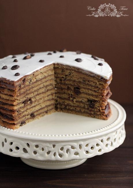 Chocolate Chip Cookie Cake © Caketime.blox.pl