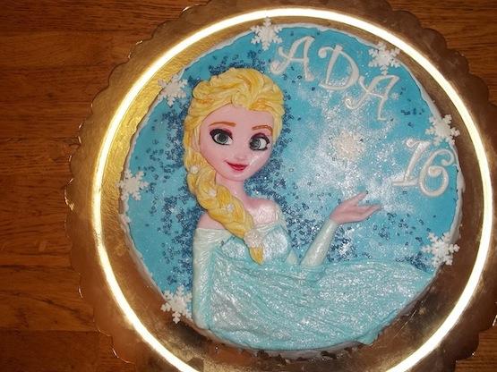 Le torte di frozen più belle per compleanno da principessa