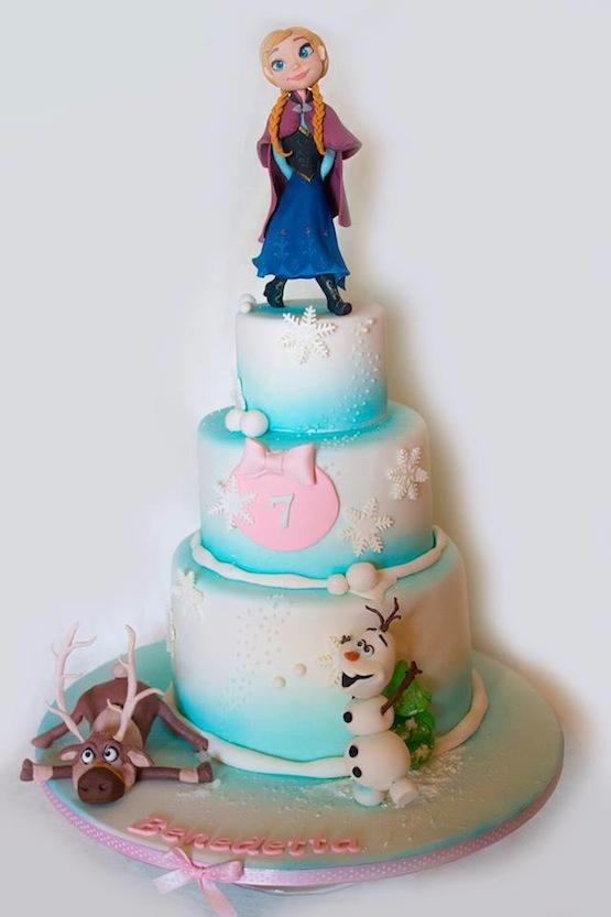 Le Cake Artist : Le 10 torte di Frozen pi? belle per compleanno da principessa
