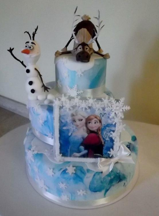 Frozen Character Birthday Cakes