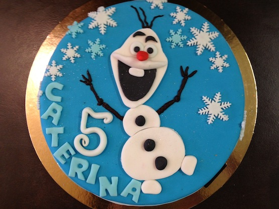 Olaf Birthday Cake Recipe