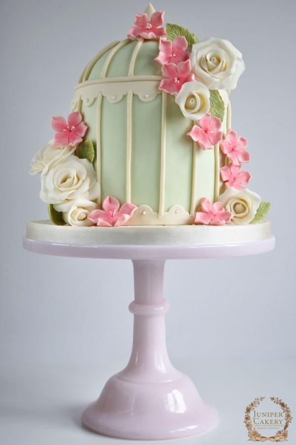 torta nuziale cake design fiori pasta di zucchero