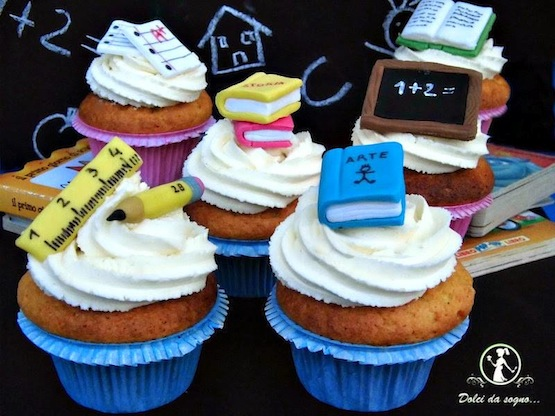 cupcake scuola