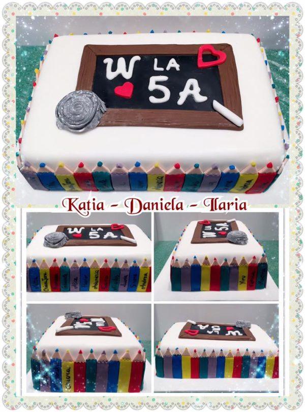 Scuola Cake Design Torino : Torta scuola: dolci di cake design per festeggiare la scuola
