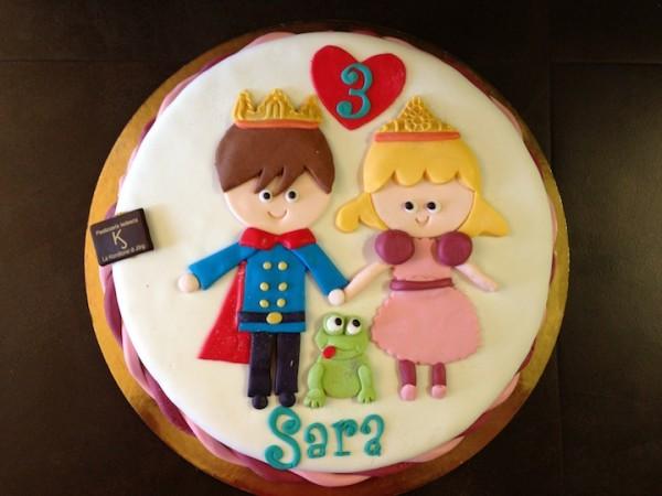 torta principe principessa