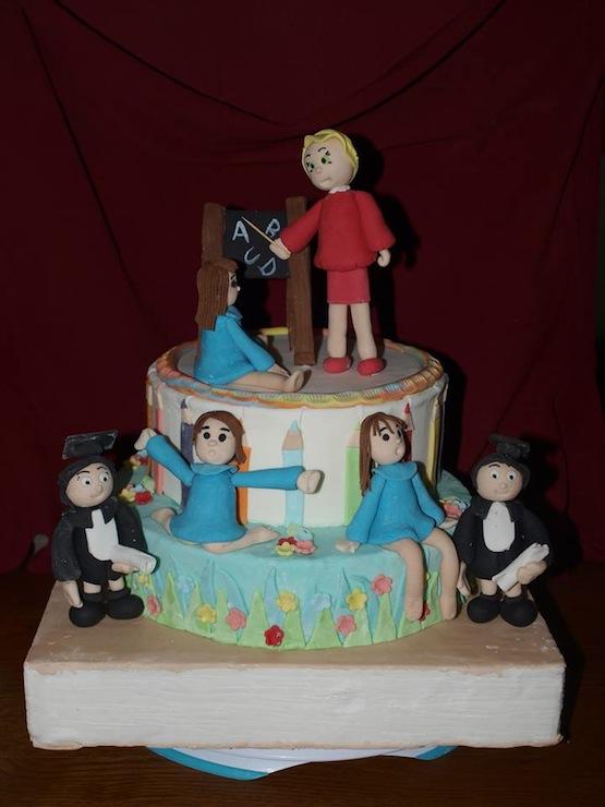 Torta Scuola Dolci Di Cake Design Per Festeggiare La Scuola