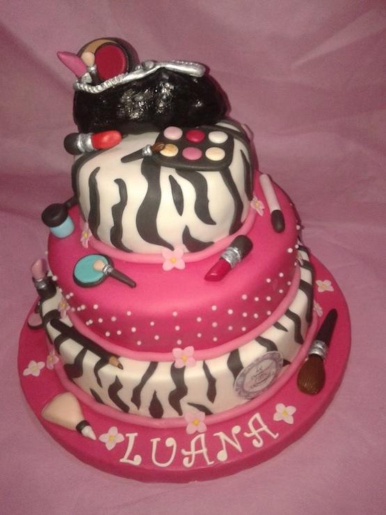 Photo Cake Makeup