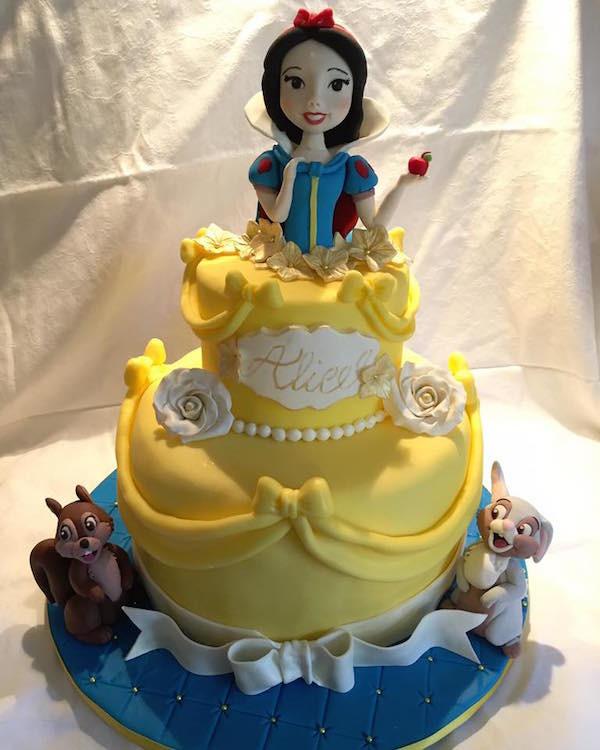 Torte E Cupcake Con Biancaneve E I Sette Nani