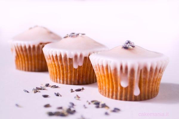 Cupcake alla lavanda. Photo © Federico Casella per Cakemania ®