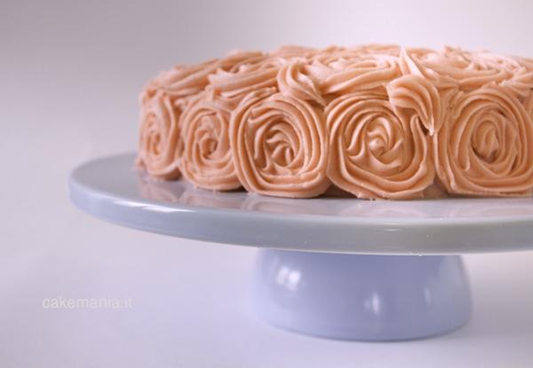 Torta alla rosa. Photo © Federico Casella per Cakemania®