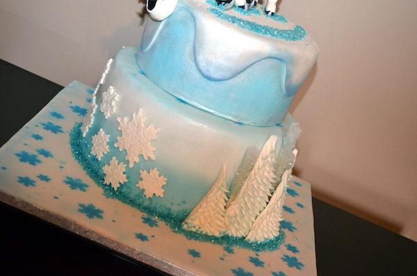 rock candy frozen cake