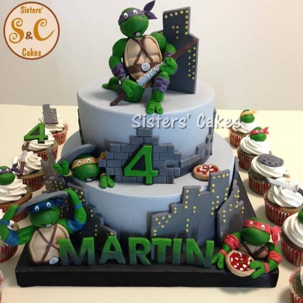 Torte tartarughe ninja dolci decorati con le