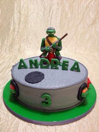 Birthday Cake Tmnt Nickelodeon Happy Birthday Kyla