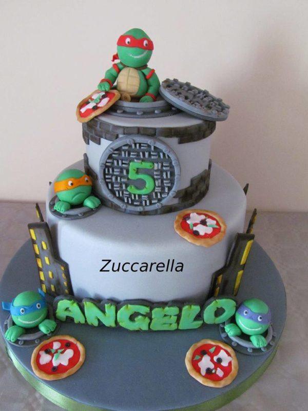 Torte Tartarughe Ninja Dolci Decorati Con Le Tartarughe