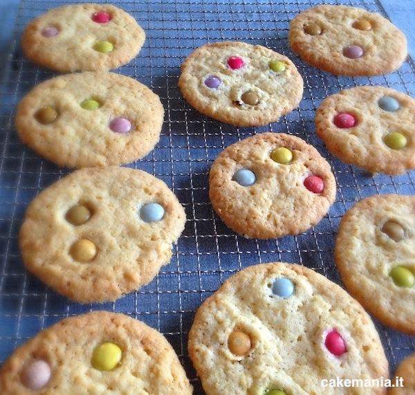 Ricetta   Cookies & Smarties - Cakemania, dolci e cake design