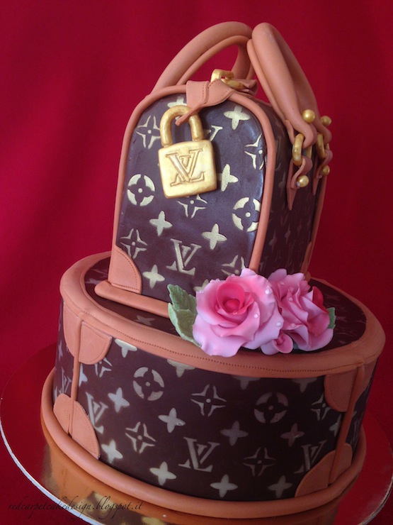 Cappelliera e bauletto Louis Vuitton © Red Carpet Cake Design