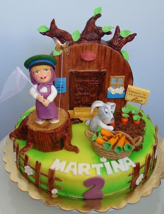 Torte masha e orso dolci per compleanni da favola