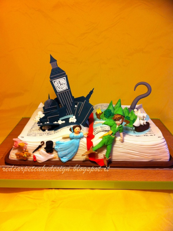 torte con peter pan e trilly libro