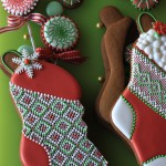 Biscotti a doppio strato che posso essere riempiti di caramelline © Julia Usher, tutorial qui www.juliausher.com/blog/more/stuff_able_stockings