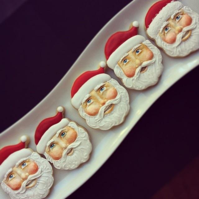 Piccoli ritratti di Babbo Natale © Arty McGoo