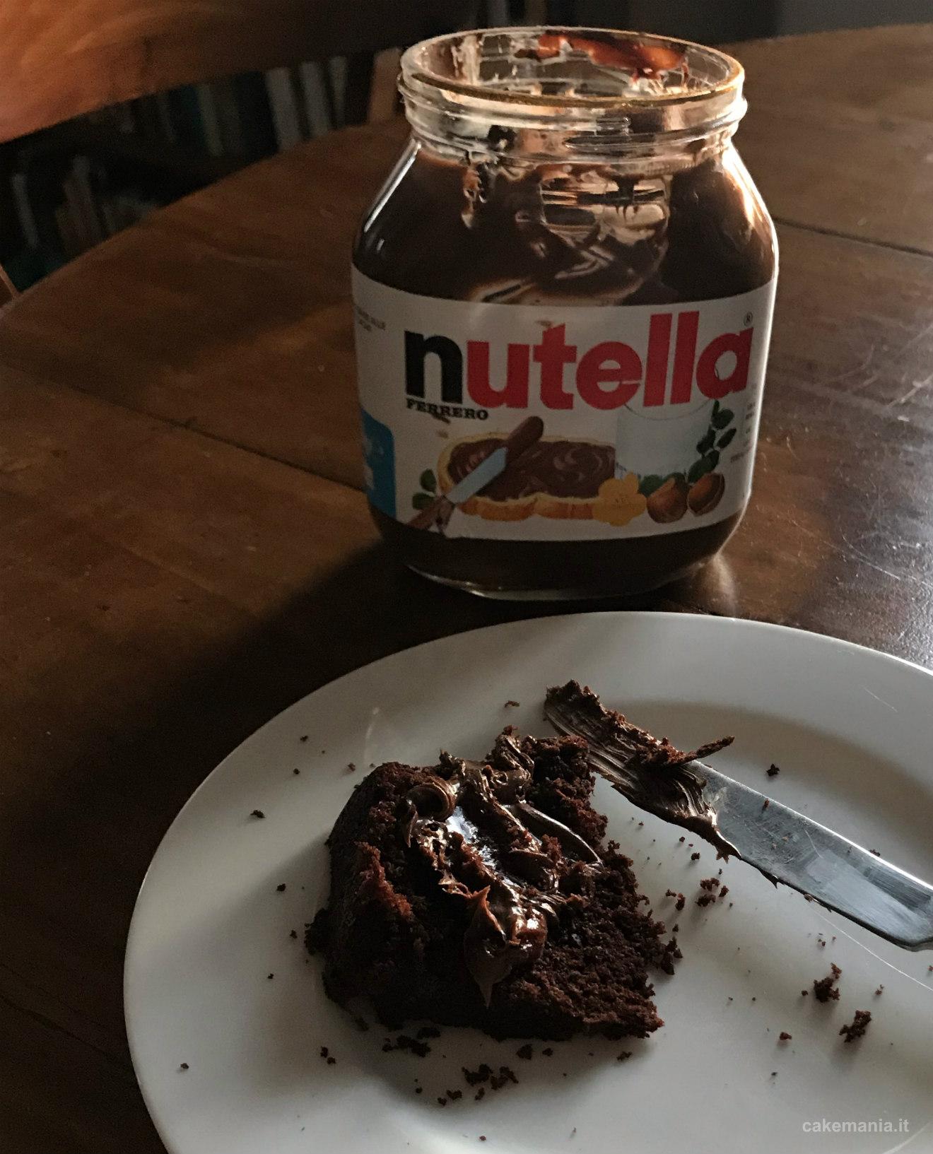 torta facile con nutella
