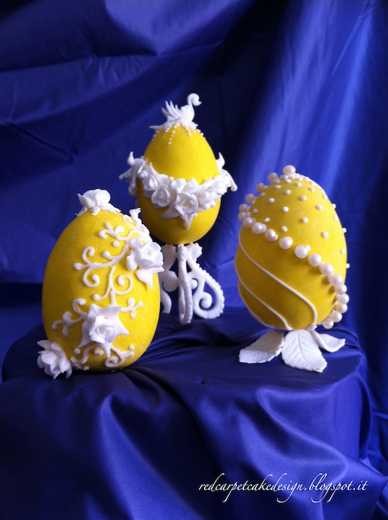 Faberge Egg Cake Tutorial