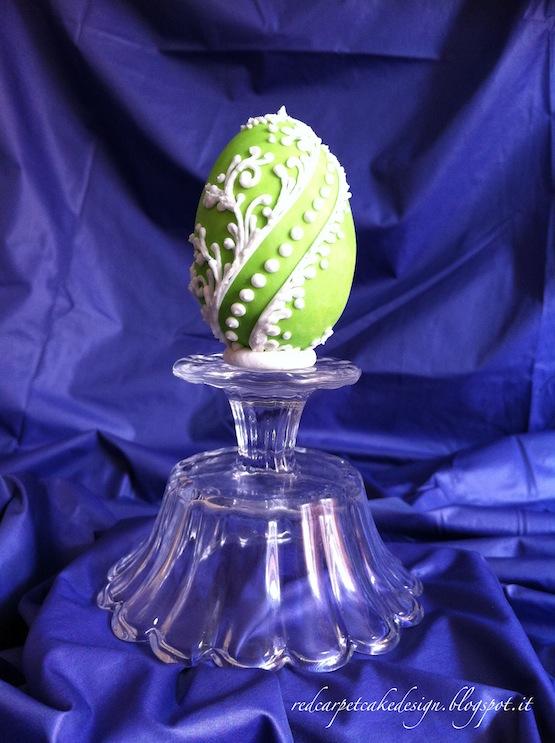 Pin uova pasquali al cioccolato latte decorate con - Uova di pasqua decorati ...