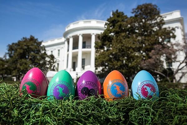 uova pasqua casa bianca