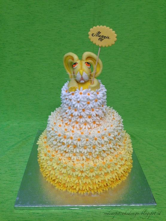 Rabbit Cake Topper Mould
