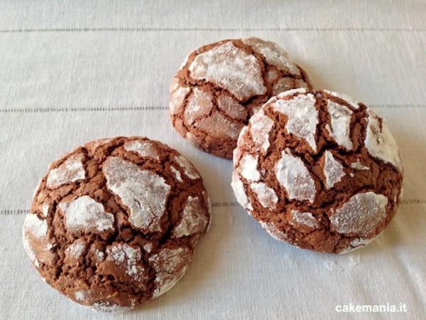 biscotti al cioccolato cuore morbido