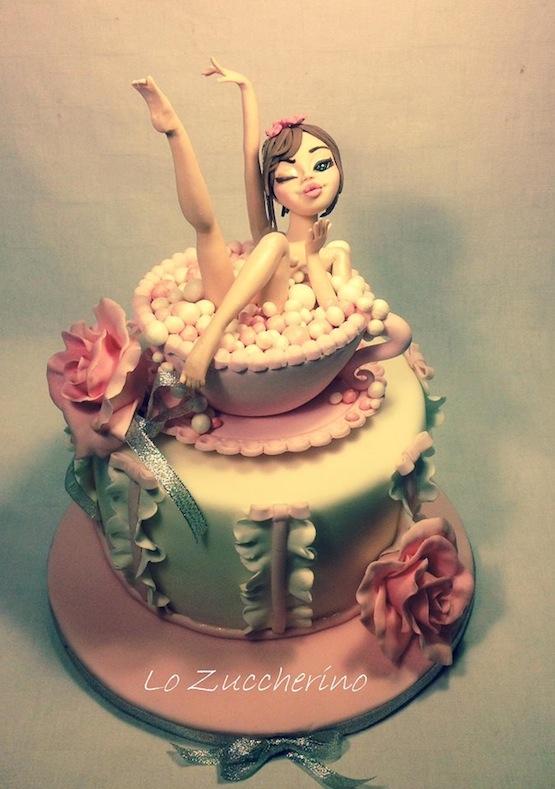 Torte Burlesque Spogliarello E Lapdance Per Addio Al