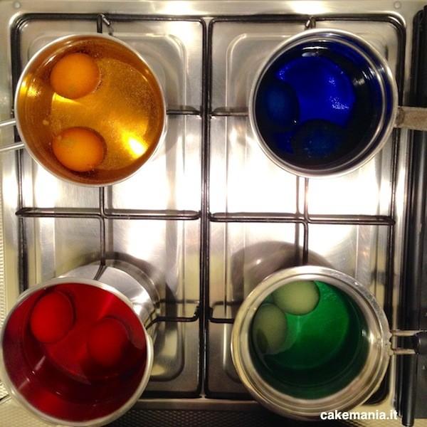 uova colorate per pasqua come si fanno