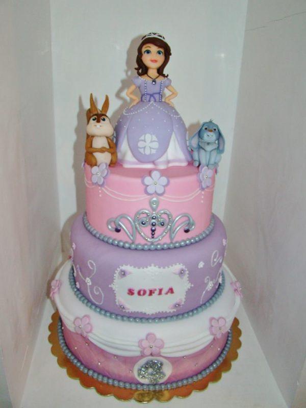 Cake Design Principesse Disney : Torta Principessa Sofia: idee di cake design