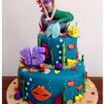 torta cake design sirenetta ariel